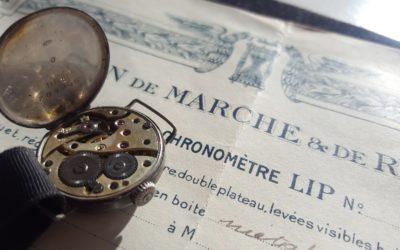 1899 : L'ESSENCE D'UNE MANUFACTURE HORLOGÈRE / Le Calibre Lip 20.3
