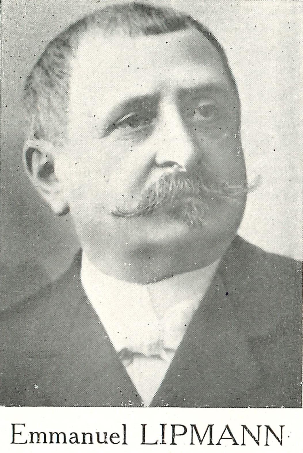 Emmanuel LIPMANN photographie fin du XIXe 19 e siècle montre Lip Besançon