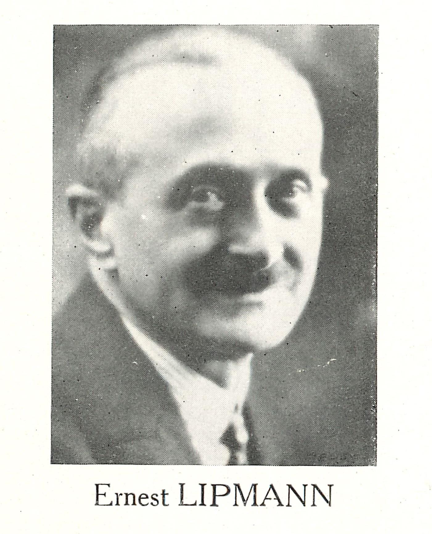 Portrait Ernest LIPMANN Bulletin Spécial Lip Usine de Palente Mars 1961 Introduction @HAOND Clément