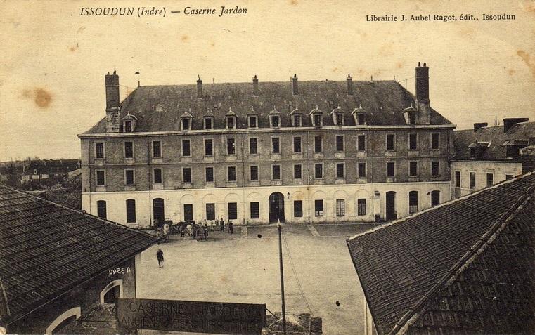 Issoudun Caserne Jardon usine Lip SAPROLIP @fond de documentation privé