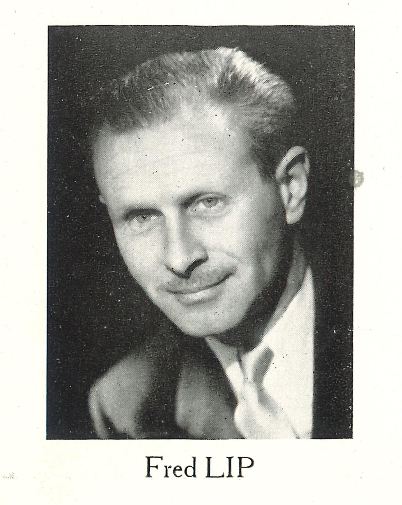 Portrait Fréderic Fred LIPMANN Bulletin Spécial Lip Usine de Palente Introduction