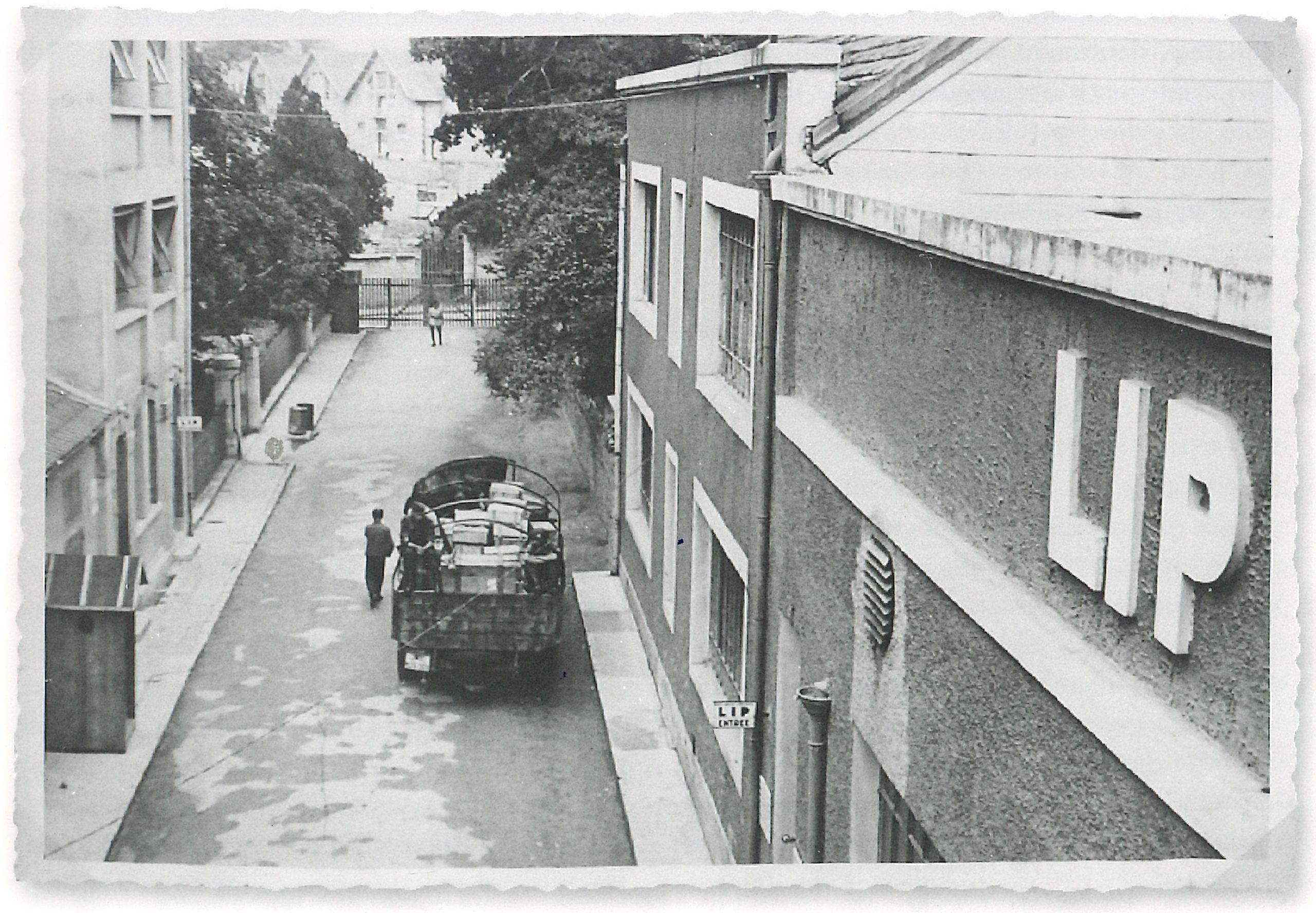 Usine Lip de la Mouillère Seconde Guerre Mondiale et Occupation Allemande 1939 - 1945