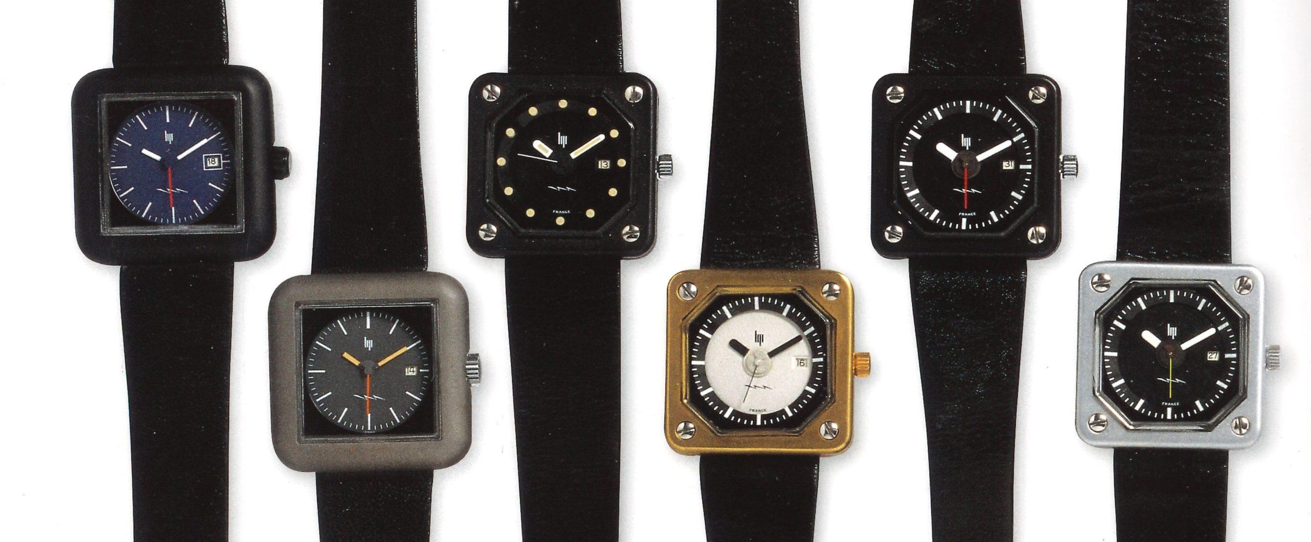 6 références de montre Lip Rudi MEYER Electronic R53 aluminium @M-P. COUSTANS page 198