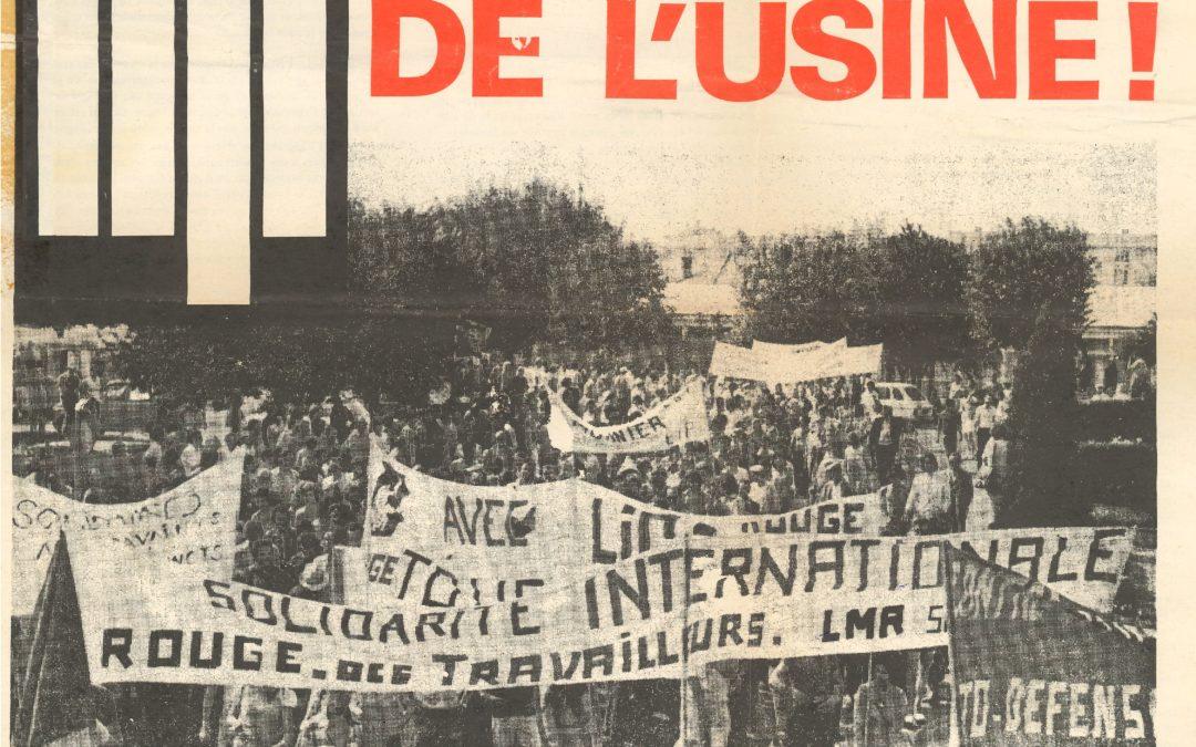 1972 – 1973 : LE PREMIER CONFLIT SOCIAL CHEZ LIP