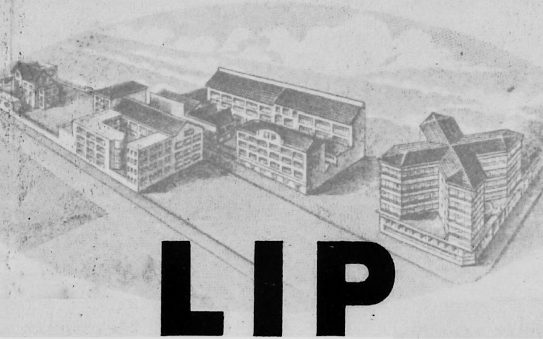 L'usine Lip de la MOUILLÈRE, rue des chalets