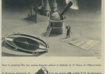 PUBLICITÉ LIP T18 – Décembre 1946