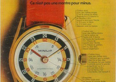 1969 : Publicité MINILIP
